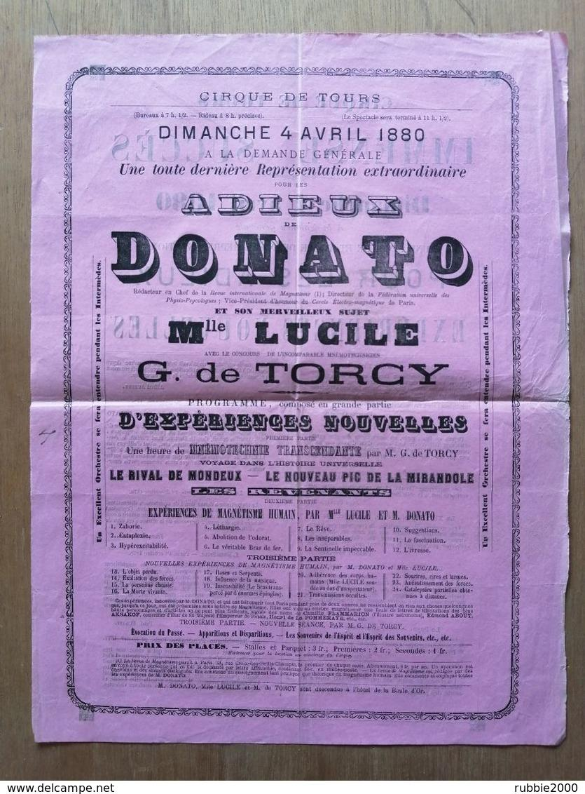 Affiche donato